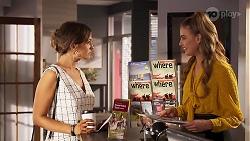 Ebony Buttrose, Chloe Brennan in Neighbours Episode 8126