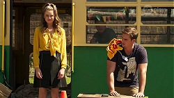 Chloe Brennan, Kyle Canning in Neighbours Episode 8126