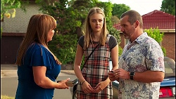 Terese Willis, Willow Bliss, Toadie Rebecchi in Neighbours Episode 8128