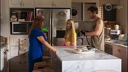 Terese Willis, Roxy Willis, Ned Willis in Neighbours Episode 8129