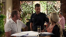 Toadie Rebecchi, Mark Brennan, Andrea Somers in Neighbours Episode 8130