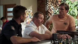 Mark Brennan, Toadie Rebecchi, Kyle Canning in Neighbours Episode 8130
