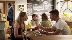 Pierce Greyson, Chloe Brennan, Mark Brennan in Neighbours Episode 8131