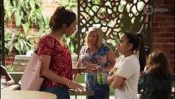 Dipi Rebecchi, Sheila Canning, Kirsha Rebecchi in Neighbours Episode 8134
