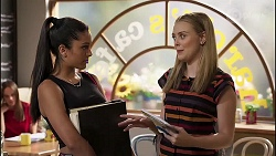 Yashvi Rebecchi, Willow Somers in Neighbours Episode 8135