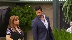 Terese Willis, Pierce Greyson in Neighbours Episode 8135