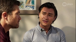 Ned Willis, Leo Tanaka in Neighbours Episode 8135