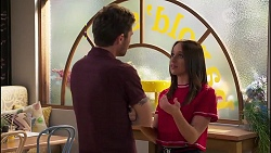 Ned Willis, Bea Nilsson in Neighbours Episode 8135