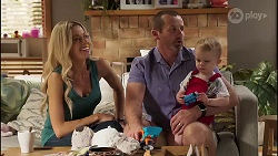 Andrea Somers, Toadie Rebecchi, Hugo Somers in Neighbours Episode 8135