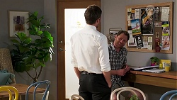 Ned Willis, Shane Rebecchi in Neighbours Episode 8136