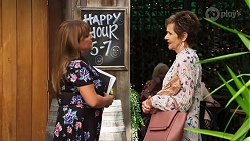 Terese Willis, Susan Kennedy in Neighbours Episode 8136