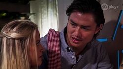 Roxy Willis, Leo Tanaka in Neighbours Episode 8136