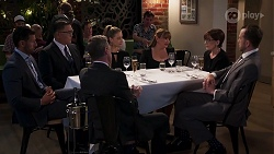 Pierce Greyson, Paul Robinson, Chloe Brennan, Terese Willis in Neighbours Episode 8136