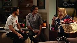 David Tanaka, Leo Tanaka, Sheila Canning in Neighbours Episode 8137