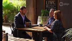 Pierce Greyson, Paul Robinson, Terese Willis in Neighbours Episode 8137