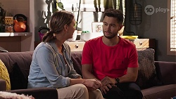 Amy Williams, David Tanaka in Neighbours Episode 8137