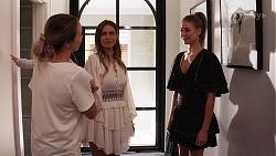 Crystal Buttrose, Ebony Buttrose, Chloe Brennan in Neighbours Episode 8137