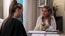 Chloe Brennan, Ebony Buttrose in Neighbours Episode 8138