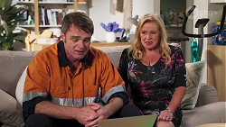 Gary Canning, Sheila Canning in Neighbours Episode 8138