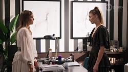 Ebony Buttrose, Chloe Brennan in Neighbours Episode 8138