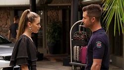 Chloe Brennan, Mark Brennan in Neighbours Episode 8138