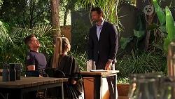 Mark Brennan, Chloe Brennan, Pierce Greyson in Neighbours Episode 8138