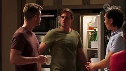 Mark Brennan, Kyle Canning, Leo Tanaka in Neighbours Episode 8139