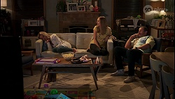 Andrea Somers, Willow Somers, Toadie Rebecchi in Neighbours Episode 8139