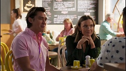 Leo Tanaka, Amy Williams in Neighbours Episode 8139