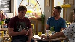 Kyle Canning, Mark Brennan, David Tanaka in Neighbours Episode 8139