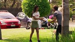 Yashvi Rebecchi, Ned Willis in Neighbours Episode 8140