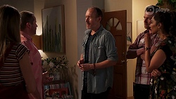 Willow Somers, Toadie Rebecchi, Ian Packer, Shane Rebecchi, Dipi Rebecchi in Neighbours Episode 8141