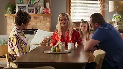 Susan Kennedy, Andrea Somers, Willow Somers, Toadie Rebecchi in Neighbours Episode 8142
