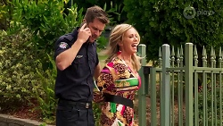 Mark Brennan, Heather Schilling in Neighbours Episode 8142