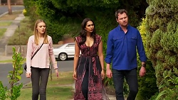 Willow Somers, Dipi Rebecchi, Shane Rebecchi in Neighbours Episode 8142