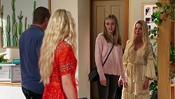 Toadie Rebecchi, Andrea Somers, Willow Somers, Dee Bliss in Neighbours Episode 8142