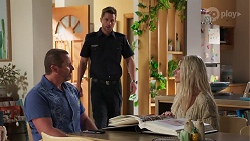 Toadie Rebecchi, Mark Brennan, Dee Bliss in Neighbours Episode 8143