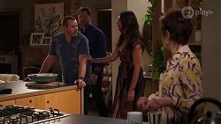 Toadie Rebecchi, Shane Rebecchi, Dipi Rebecchi, Susan Kennedy in Neighbours Episode 8143