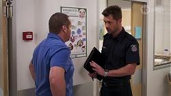 Toadie Rebecchi, Mark Brennan in Neighbours Episode 8143
