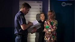 Mark Brennan, Heather Schilling in Neighbours Episode 8143