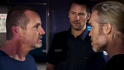 Toadie Rebecchi, Mark Brennan, Riley Cooper in Neighbours Episode 8143