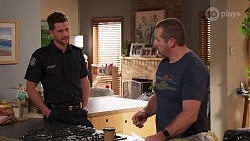 Mark Brennan, Toadie Rebecchi in Neighbours Episode 8144