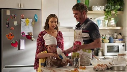 Amy Williams, Nell Rebecchi, Gary Canning in Neighbours Episode 8144