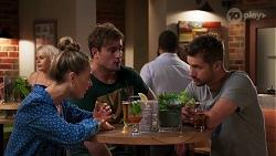 Chloe Brennan, Kyle Canning, Mark Brennan in Neighbours Episode 8144