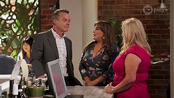 Paul Robinson, Terese Willis, Sheila Canning in Neighbours Episode 8145