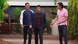 Aaron Brennan, Leo Tanaka in Neighbours Episode 8146