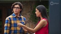 Luka Eve, Yashvi Rebecchi in Neighbours Episode 8146