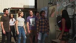 Ned Willis, Bea Nilsson, Chloe Brennan, Kyle Canning, Finn Kelly, Luka Eve, Yashvi Rebecchi in Neighbours Episode 8146