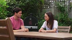 Finn Kelly, Bea Nilsson in Neighbours Episode 8146