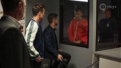 Paul Robinson, Aaron Brennan, David Tanaka, Robert Robinson in Neighbours Episode 8146